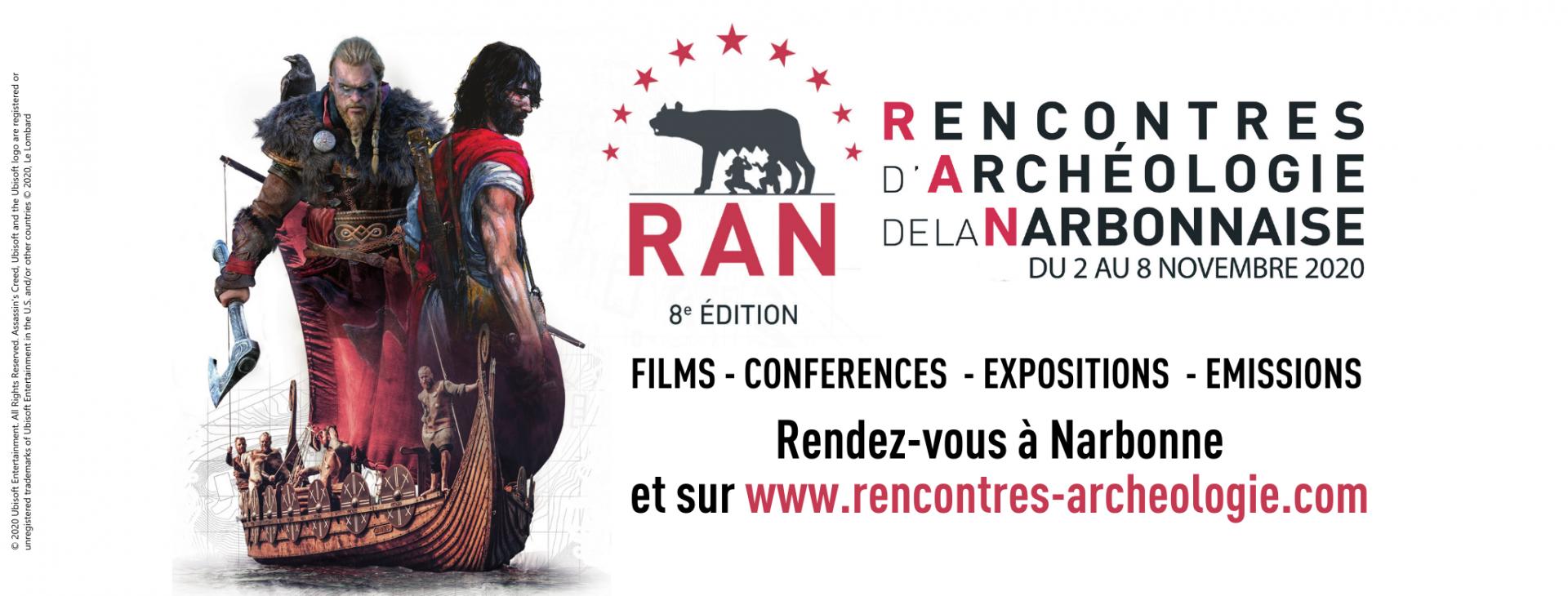 Rencontres d'Archéologie de la Narbonnaise 2020