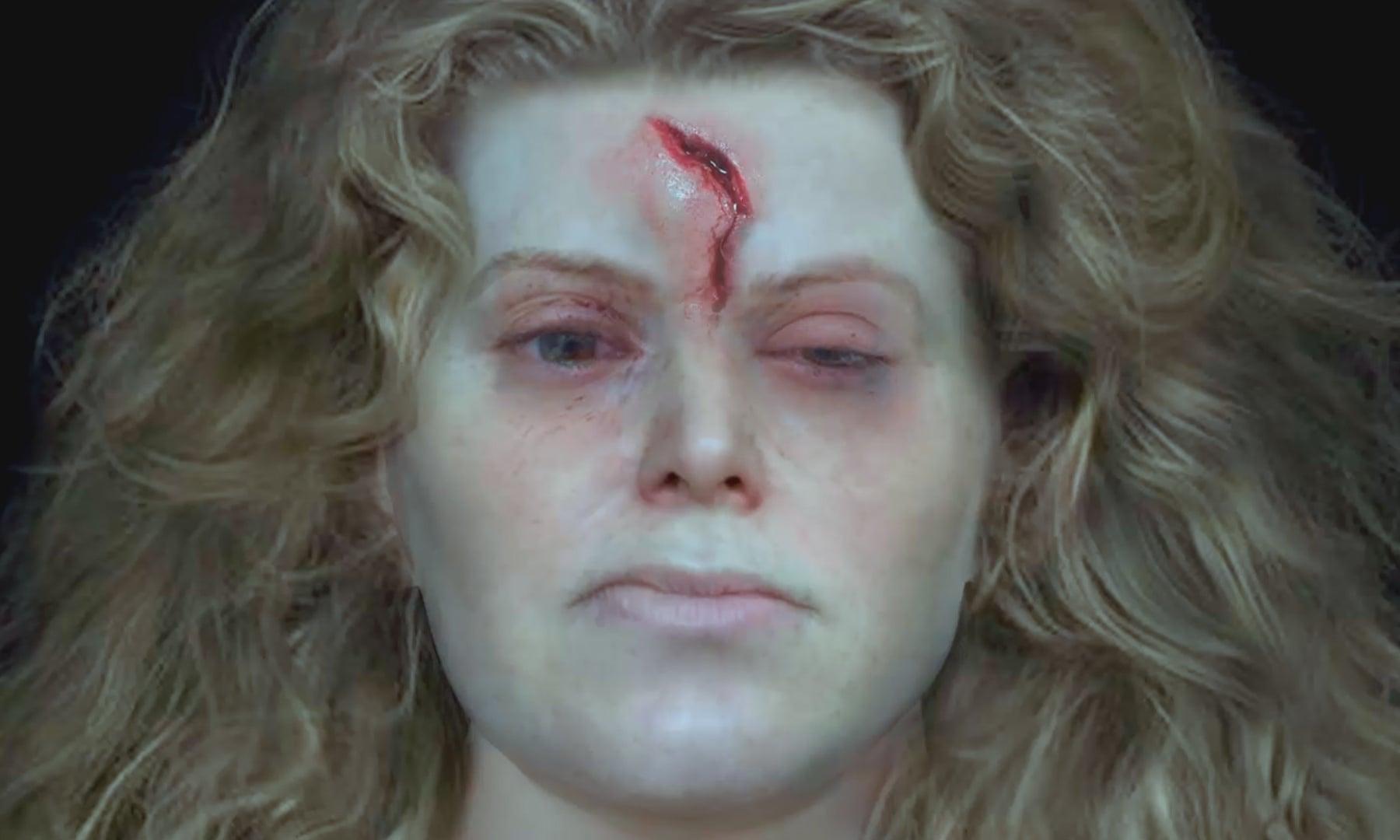 Royaume-Uni - Image de la reconstruction faciale d'après le crâne de la femme viking de Solør - Photo: National Geographic