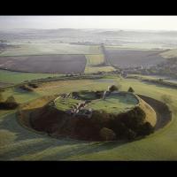Le site de Old Sarum, Royaume-Uni
