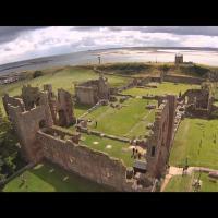 Monastère de Lindisfarne, Royaume-Uni