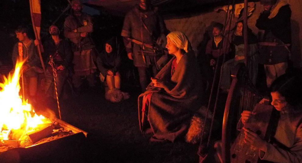 Royaume-Uni - Un second souffle pour la langue des Vikings grâce à la musique - Photo:  Y Ddraig, troupe de reconstitution historique de Stoke-on-Trent