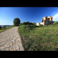 Riourikovo Gorodichtche, ruines de l'église de l'Annonciation
