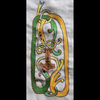 Serpent de Midgard réalisé par Joëlle Delacroix
