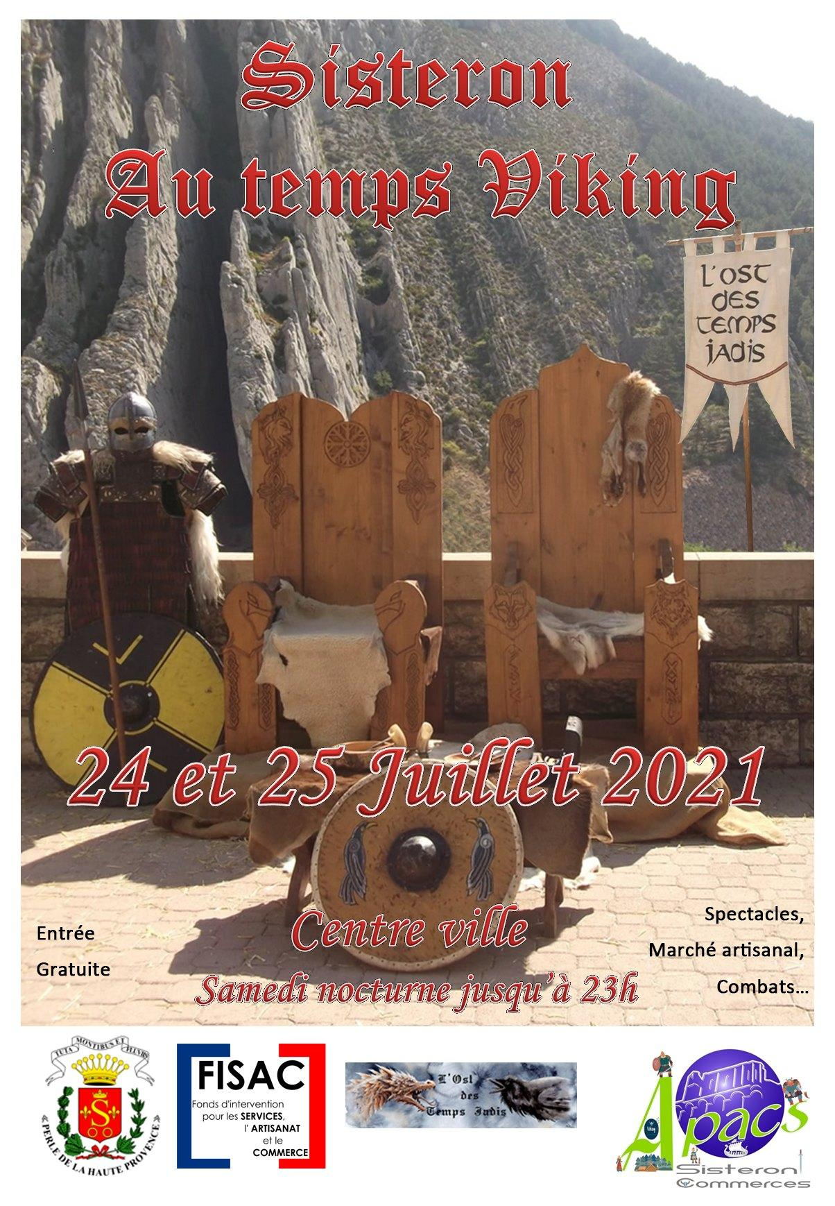 Sisteron au Temps Viking
