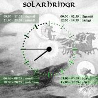 Solarhringr, l'horloge de l'Âge Viking - Illustration Idavoll