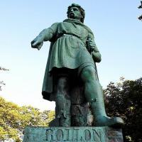 Statue de Rollon à Ålesund