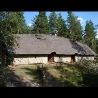 Maison longue à Årsunda, Suède