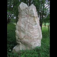 Suède - Pierre runique de Lingsberg, datée du XIème siècle