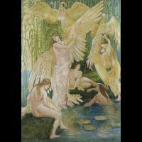 Les femmes cygnes par Walter Crane
