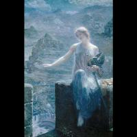 The Valkyrie's Vigil par Edward Robert Hughes