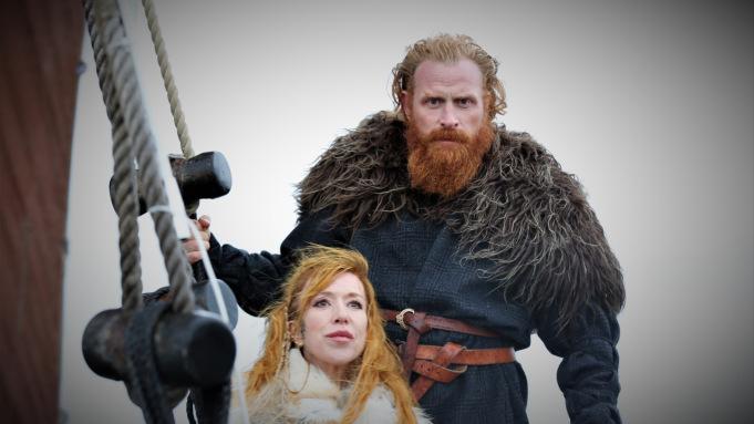 True Viking, une nouvelle émission d'aventure présentée par Kristofer Hivju et son épouse - Photo: Tindefilm