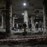 Ukraine - La Rus' de Kiev refait surface sous la place Poshtova - Photo: ua.112ua
