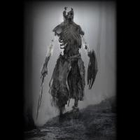 Un draugr - Illustration: Dela Longfish Art / God of War