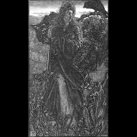 La Valkyrie et le corbeau par Anthony Frederick
