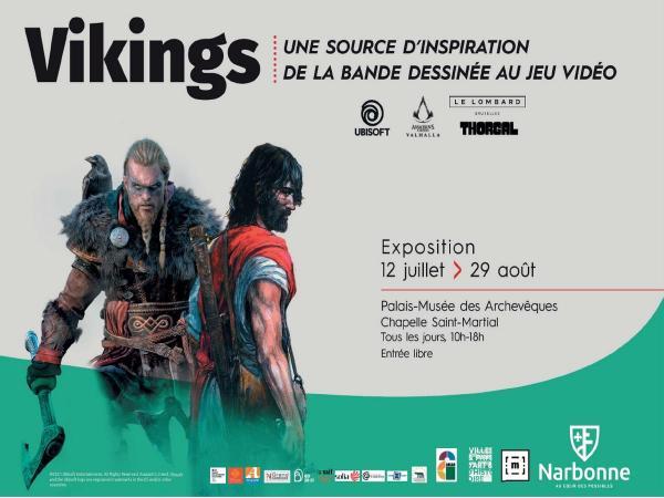 Vikings, une source d'inspiration de la bande dessinée au jeu vidéo